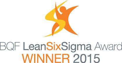 BQF Lean Six Sigma Winners 2015