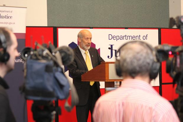 Justice Minister David Ford, MLA