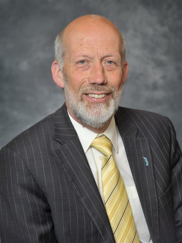 Minister of Justice David Ford, MLA