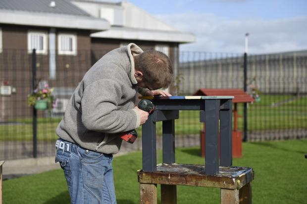 Maghaberry prisoners making life better for pupils at special needs school
