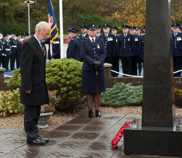 Justice Minister attends Northern Ireland Prison Service Memorial