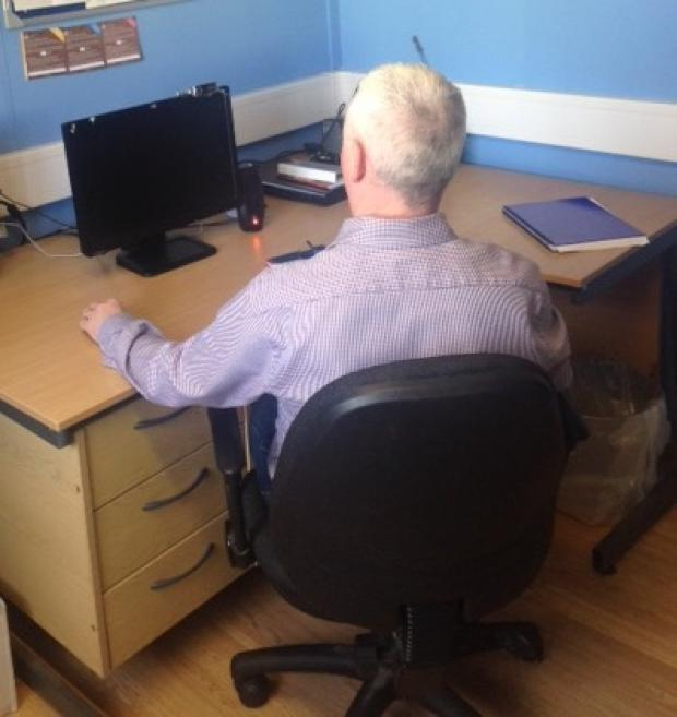 Skype room at Magilligan Prison