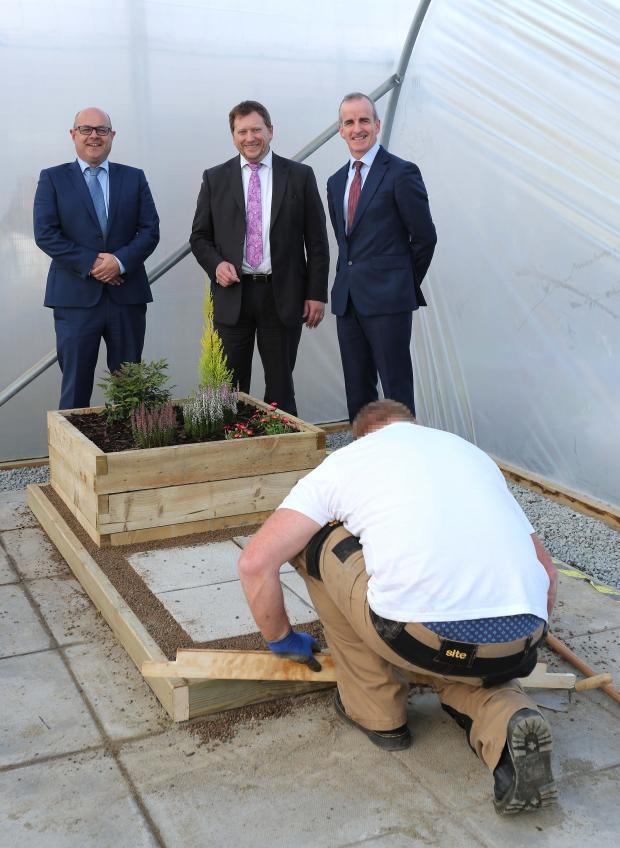 Prisoners at Magilligan have taken part in the first ever Skillbuild NI competition in a UK prison.