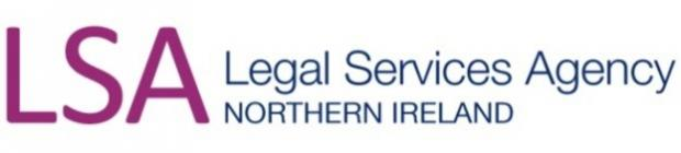 Legal Services Agency Northern Ireland Standard logo