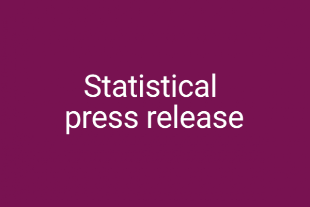 graphic for statistical press release