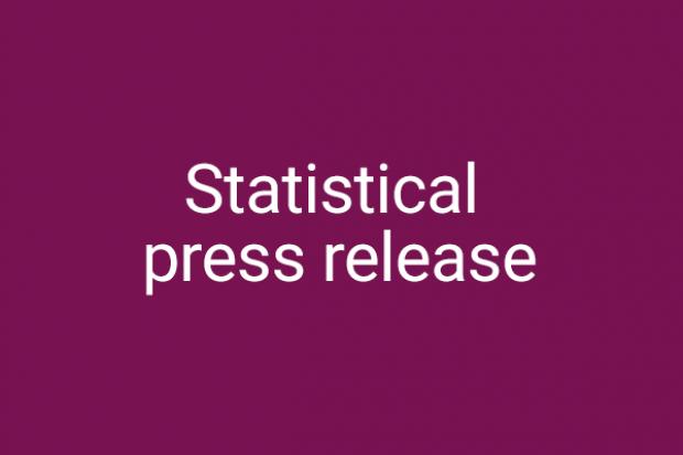 Graphic for DoJ statistical press release