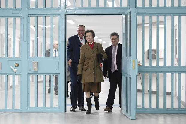 Her Royal Highness The Princess Royal today visited HMP Maghaberry in her role as Patron of the Butler Trust. Princess Anne toured Davis House, a new £54 million state of the art facility.