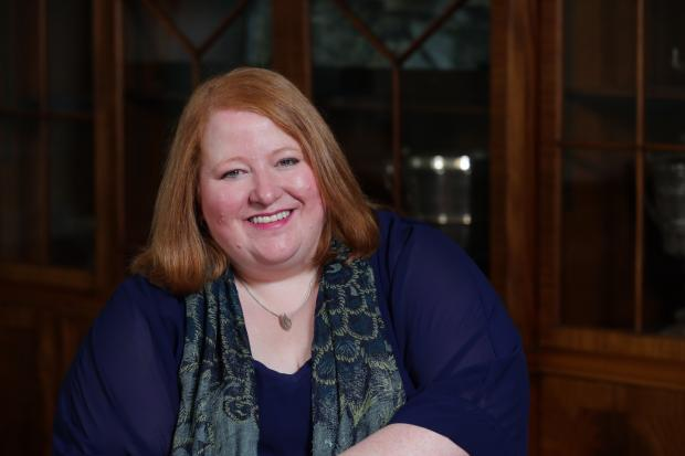 Justice Minister Naomi Long pictured