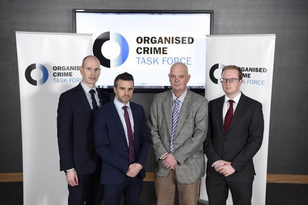 Members of the organised crime task force NI